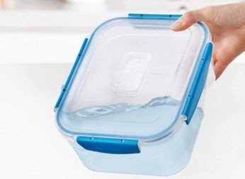 leak-proof plastic box