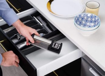 storing a kitchen accessory